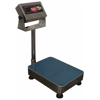 Scale-Hire-Stainless Steel Floor Scale